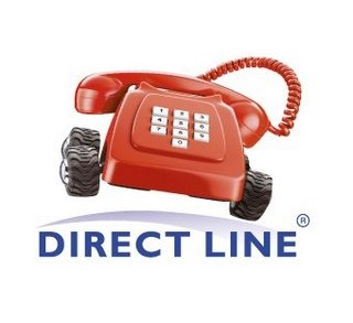 Direct line - hiding negative website feedback