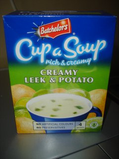 Cup a soup contains hydrogenated vegetable oils/trans fat